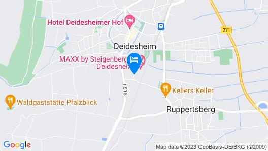 MAXX by Steigenberger Deidesheim Map