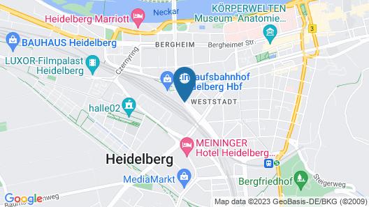 ibis Heidelberg Hauptbahnhof Map