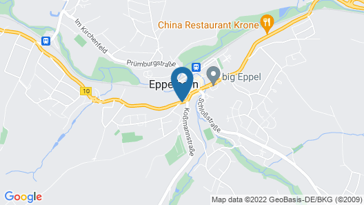Hotel Eppelborner Hof Map