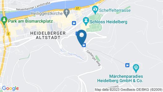 Schlosshotel Molkenkur Map