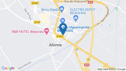 Hotel Campanile Beauvais Map