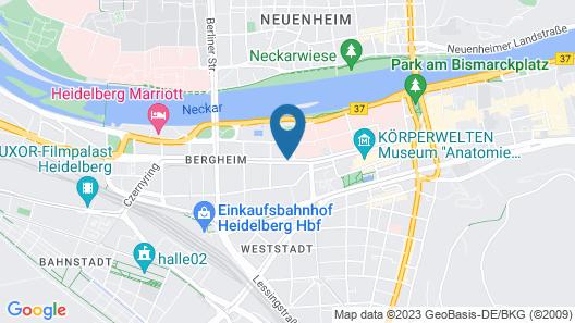 NH Heidelberg Map