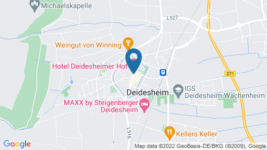 Hotel Deidesheimer Hof Map