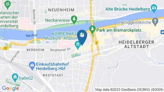GuestHouse Heidelberg Map
