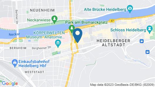 Hotel Heidelberger Hof Map