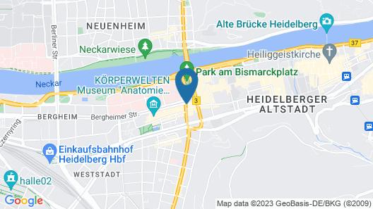 Hotel Bayrischer Hof Map