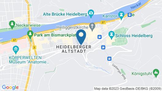 Arthotel Heidelberg Map