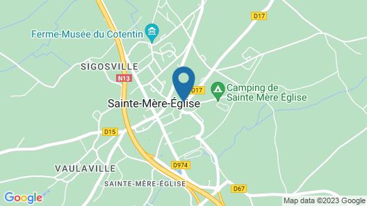 Hôtel du 6 Juin Map