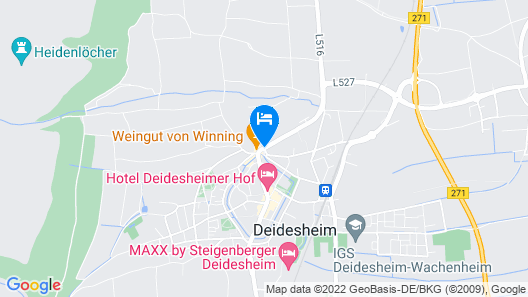 Kaisergarten Hotel & Spa Map