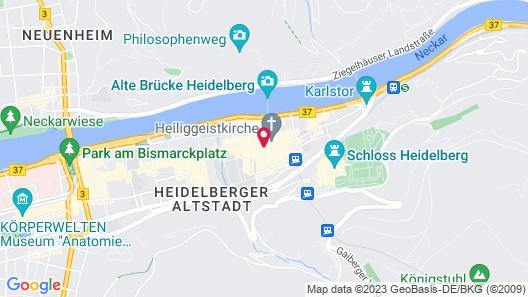 Hotel Zum Ritter St. Georg Map