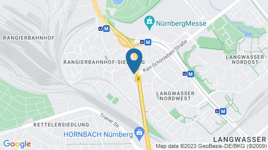 Novotel Nuernberg Messezentrum Map