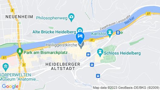 Hotel & Restaurant Hackteufel Map