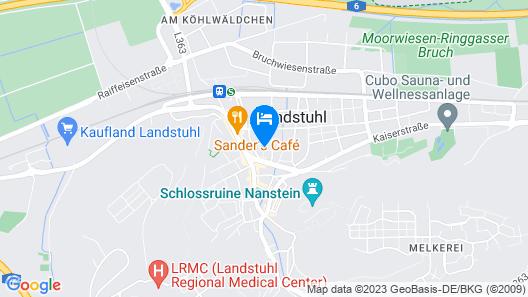 airhotel ROYAL Map