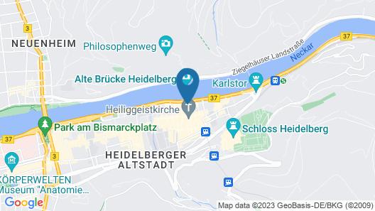 Hotel Zur Alten Brücke Map