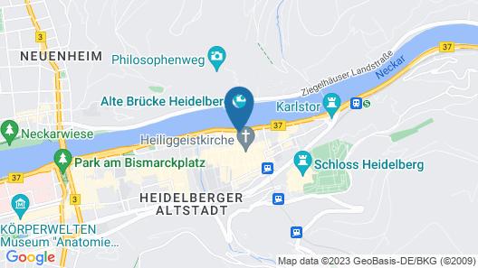 City Partner Hotel Holländer Hof Map