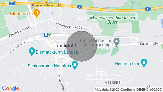 Apartment Traumland - Central Location in Landstuhl Map
