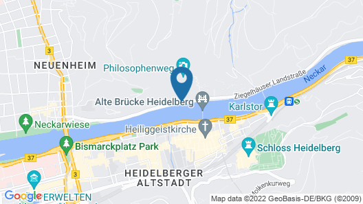 Boutique Hotel Heidelberg Suites - Small Luxury Hotels Map