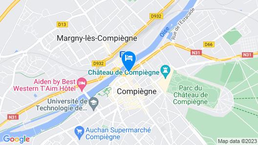 Hotel Les Beaux Arts Map