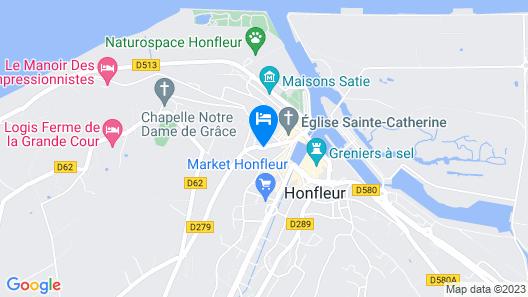 Hôtel Saint-Delis - Relais & Châteaux Map