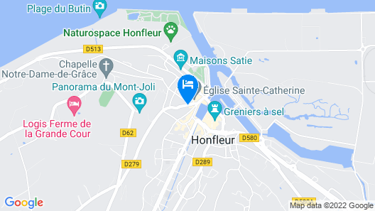 Les Maisons du Puits Map