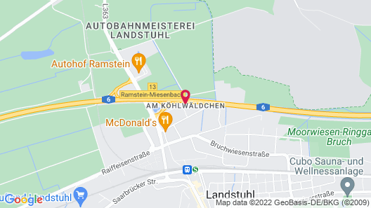 Hotel Restaurant Rosenhof Map