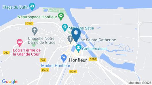 Best Western Le Cheval Blanc - Vieux Port Map