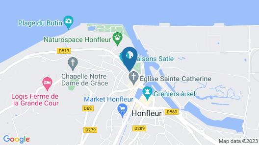 La Maison d'Eugène Appart'Hôtel - Centre historique Map