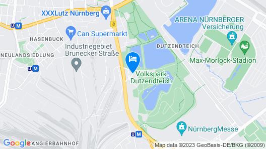 Congress Hotel Mercure Nürnberg an der Messe Map