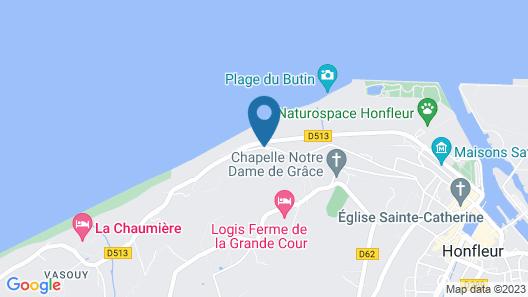 Le Manoir des Impressionnistes Hôtel, Restaurant & Spa Map