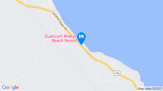 Qualicum Breeze Beach Resort Map