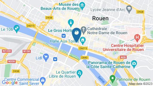 Home Sweet Rouen Cathédrale Map