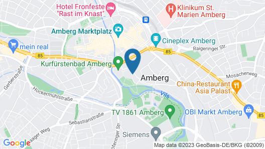 Vienna House Easy Amberg am Congress Centrum Map
