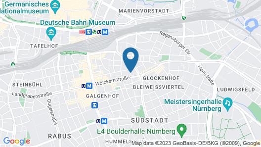 Advantage Hotel Map