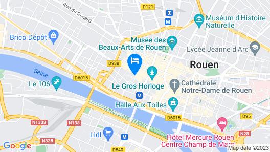 Hotel de Bourgtheroulde, Autograph Collection Map
