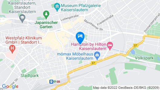 Stadthotel  Map