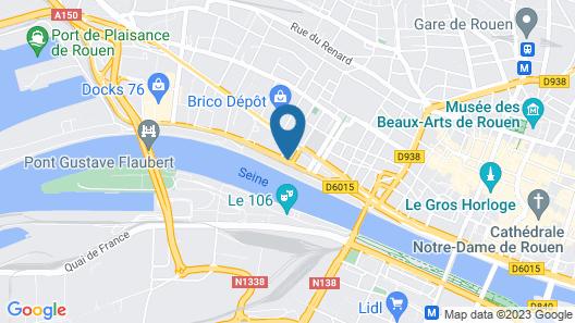 Novotel Suites Rouen Normandie Map