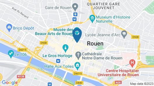 Hôtel Le Vieux Carré Map