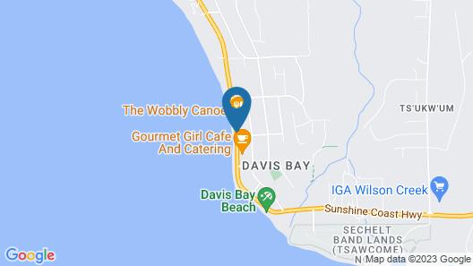 Bella Beach Inn Map