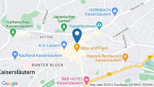 Art Hotel Lauterbach Map
