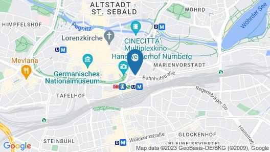 Park Plaza Nuremberg Map