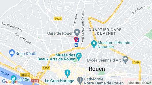 Hôtel Astrid Map