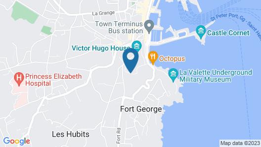 Best Western Hotel de Havelet Map