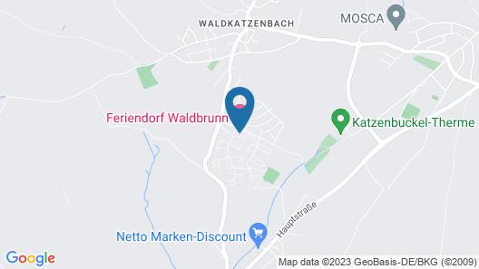 Feriendorf Waldbrunn Map