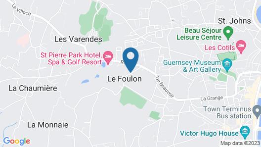 El Tabora Guest House Map