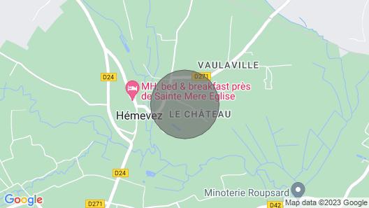 Exceptionnel Gîte au Château D'hémevez Map