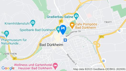 ACHAT Hotel Bad Dürkheim Map