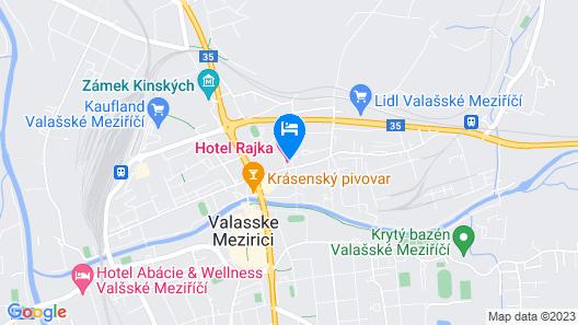Hotel Rajka Map