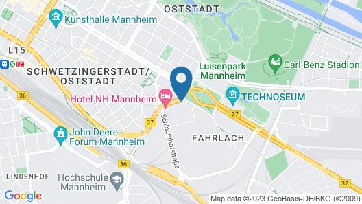 NH Mannheim Map