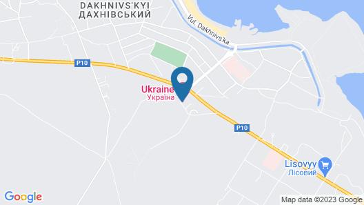Hotel Ukraina Map
