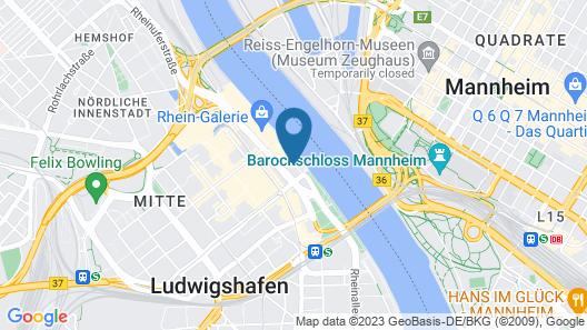 MOXY Ludwigshafen Map